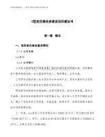 C型變壓器投資建設項目建議書(立項備案報告).docx