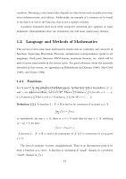 高级微观经济学所需的数学知识资料