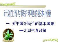 sp0042-21計劃生育和保護環境基本國策