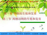 南省三門峽市義馬市第二初級中學人版八年級生物(下冊)課件713_兩棲動物的生殖和發育_(共10張)