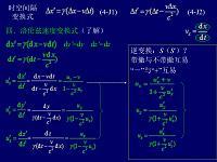 大學物理相對論2課件