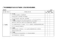 廣州市船舶修造行業安全生產檢查表(作業環境與職業健康)