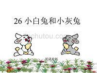 三年级小白兔和小灰兔