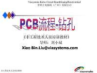 PCB流程_鉆孔