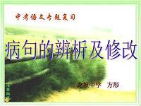 中考修改病句 (1).