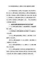 2019年度吉林省创业孵化(示范)基地申报指南