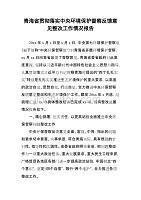 青海省贯彻落实中央环境保护督察反馈意见整改工作情况dafa