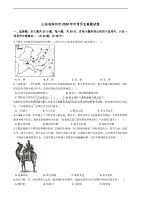 精编解析版山东省滨州市2020年中考历史真题试卷