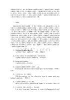 英语翻译的十大方法10244-修订编选