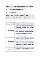 民营中小企业公司对外商务部考核指标量化设计实用方案