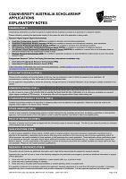 中央昆士蘭大學獎學金評審規則