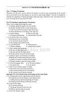 【真题回顾】CET考试English考级2015年12月英语四级考试真题