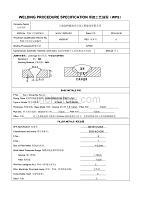 管道焊接工艺规程WPS