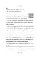 江苏省宿迁市2017-2019年三年中考英语试卷分类汇编:任务型阅读