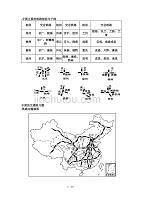 中国的交通练习题(带复习资料)