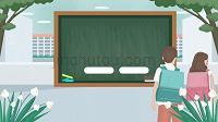 内容型开学季家长会PPT模板 (2)