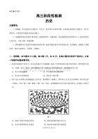 山東省淄博市2020屆高三歷史下冊第二次網考歷史試題卷(含答案)