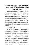 """2020年县委领导班子成员脱贫攻坚专项巡视""""回头看""""整改专题组织生活会对照检查发言提纲"""
