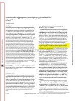 临床专科知识讲解习题考试题tusduringregnancy_settingthestageformotherandinfant