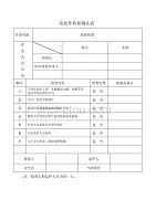 高处作业作业前确认表 .pdf