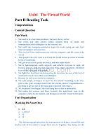 全新版大學英語綜合教程2課后答案(Unit4-6).doc