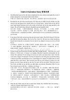 全新版(第二版)第一冊Unit6 TEXTA A Valentine Story課文及翻譯.doc