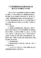 广东省房屋建筑和市政基础设施工程建设行业专项整治工作方案.doc