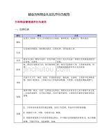 (万科企业管理)超全万科物业礼仪礼节行为规范DOC28页)精品