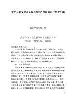 安仁县妇女联合会规范机关内部权力运行制度汇编