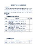 建筑工程项目技术员绩效考核表