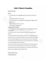 第二单元参考答案全新版大学进阶英语综合教程(第四册)课后习题答案
