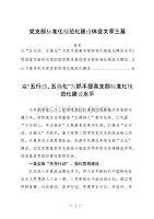 党支部标准化规范化建设体会文章三篇