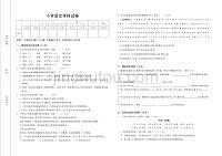 1232编号小学语文教师进城招考试卷