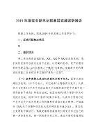 2019年度机关党支部书记抓党建述职报告