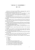 2014高考英语第二轮查漏补缺专题集训(24)社会生活型阅读理解(基础+提升含详解)