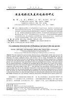 准东煤掺混焦炭燃烧特性研究