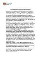 悉尼大学奖学金评选规则