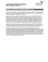 西悉尼大学奖学金评审规则