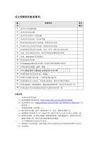 科研实验室-论文投稿check list