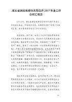 湖北省测绘地理信息局召开2017年度工作总结汇报会