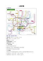 (交通运输)上海轨道交通(附世博地铁图)