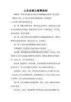 山东省禁止赌博条例