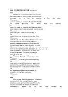 全國大學生英語競賽改錯訓練(附答案)
