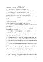 考研英语二核心词汇及例句