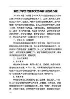 董胜小学全民国家安全教育日活动实施解决方案.doc