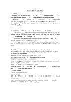 英語四級作文萬能模板(推薦)