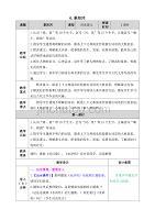 部編版小學五年級語文下冊:6 景陽岡教案
