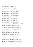 最新国企和央企房地产公司名单