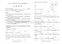 湖北省武汉市2020届高三高中毕业生五月质量检测文科数学试卷