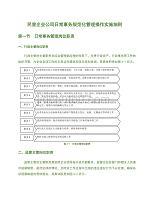 民營企業公司日常事務規范化管理操作實施細則
